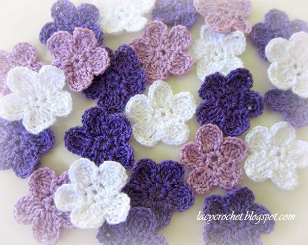 flower crochet pattern brunfelsia inspired crochet flowers by lacy crochet [see symbol chart  pattern] XZKYIQV